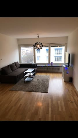 Cozy & Private Room in Fresh City Center Apartment