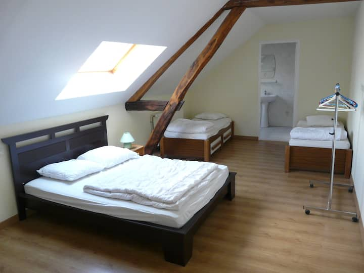 Location chambres  /Gite de séjour Les Fosses