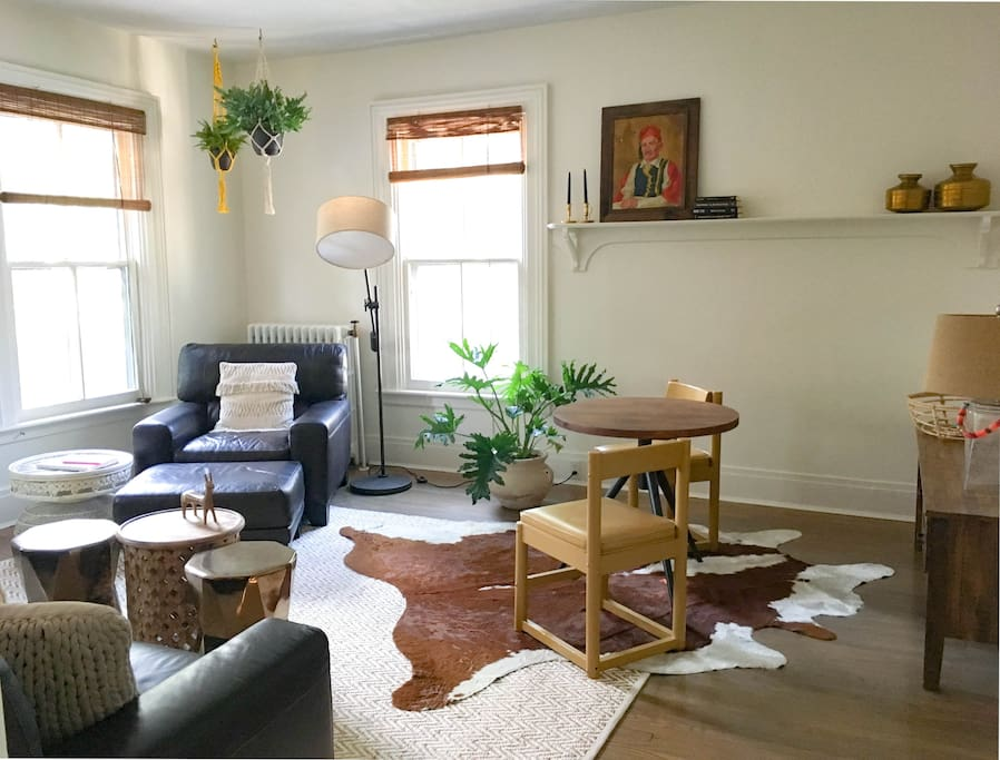Spacious Living Room with Lots of Natural Light