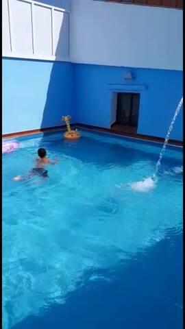 Appartement F3 avec piscine - Jijel