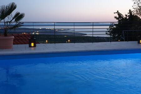 Nilaria Sea view apartment & pool near Krk, Rijeka