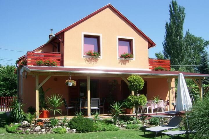 Villa Harmony at Lake Balaton