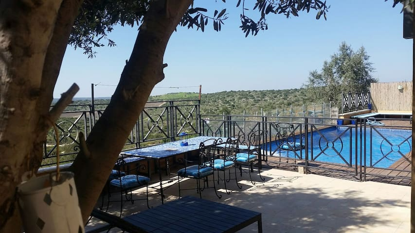 Villa kosher pool near Jerusalem ! - Aderet - Vila
