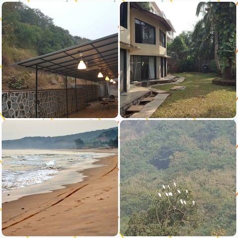Mi-Casa - garden view,  1 km from beach - 2 bed