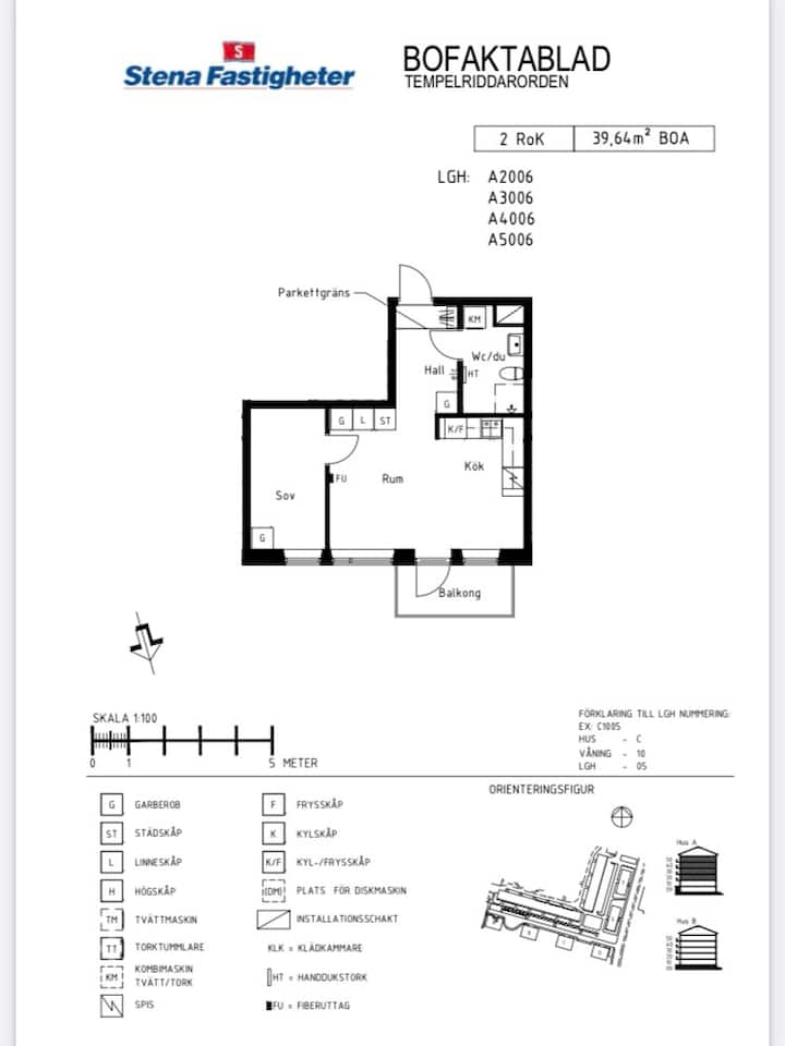 1 bedroom apartment in Bredäng