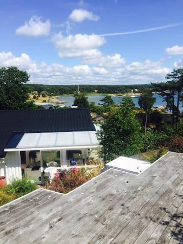 Havsnära sommarhus i Espevik! - Espevik - บ้าน