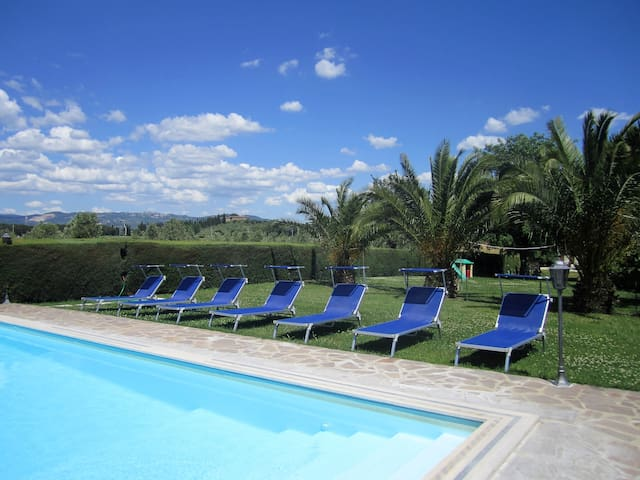 apartment with pool between Siena and Grosseto - Roccastrada - Appartement