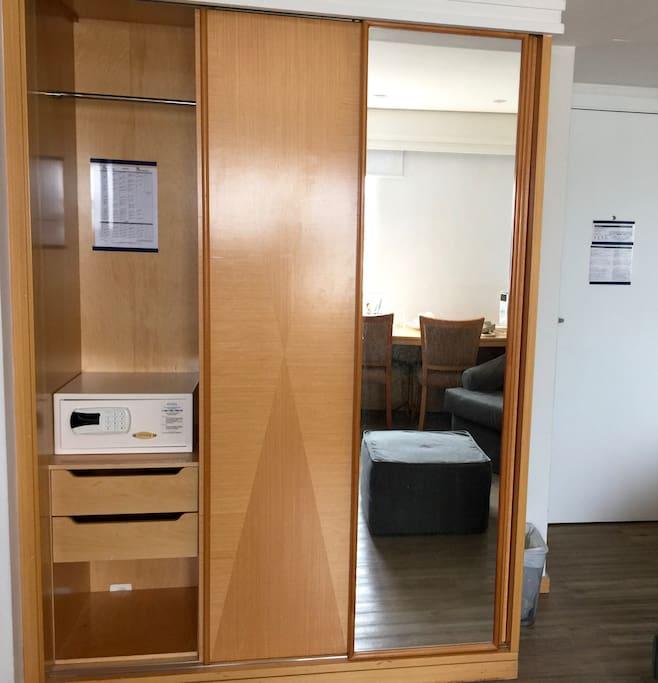 Wardrobe and Safe Box