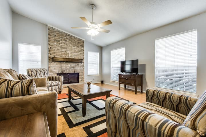 Charming 3BR near downtown Frisco / Toyota Stadium