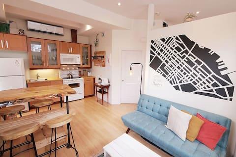 Emplacement parfait, élégant ou confortable: The Corner Store.
