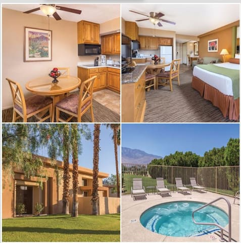 Studio Wyndham Palm Springs - Plaza Resort & Spa - Palm Springs - Apartment