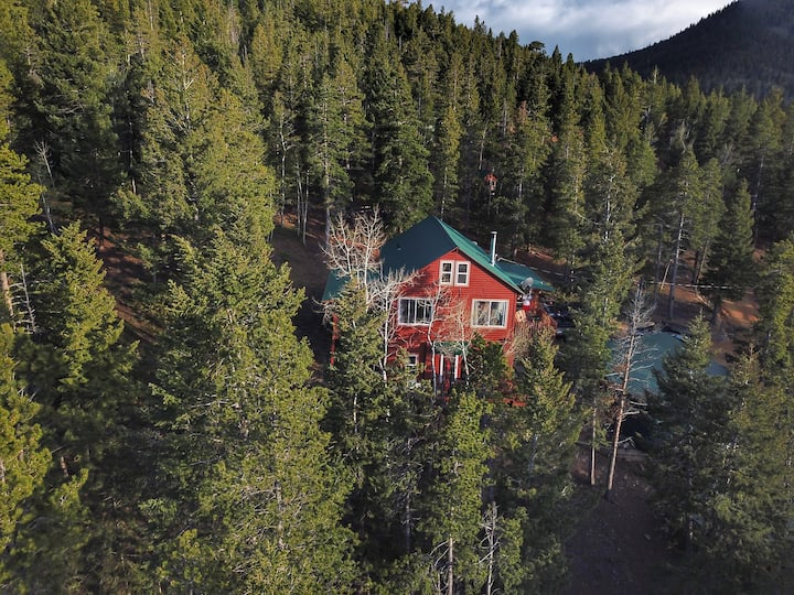 Mountain Cabin Apt w/Private Entrance Scenic Views