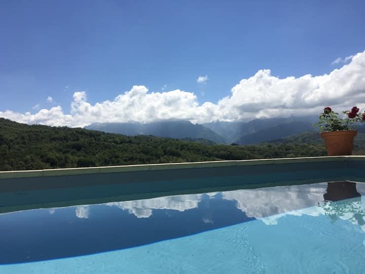 Tuscany,villa by Cinque Terre,pool, sauna hot tub