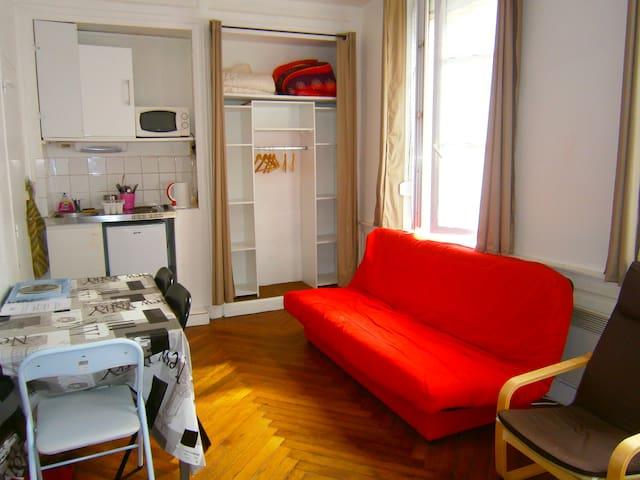 Studio de 20m² pour 2 à 3 personnes - Rouen - Apartamento