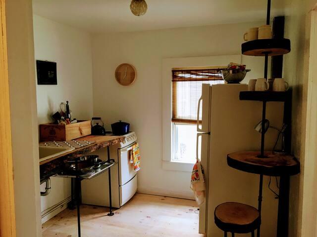 Custom rustic kitchen