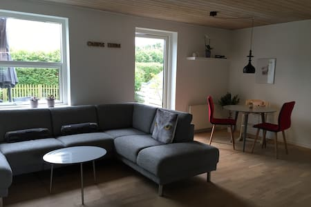 Townhouse with garden close to the city - Skanderborg - Rekkehus