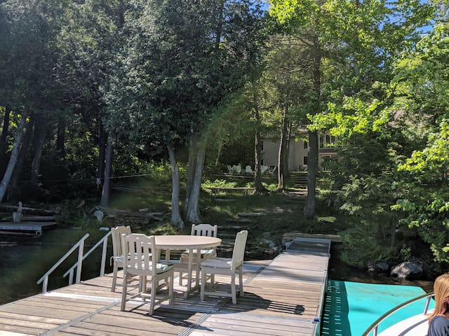 Lakefront 3 Bedroom Lock out near Colby College