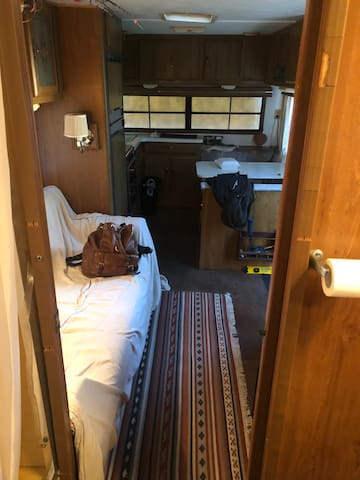 Fully restored 26ft vintage RV/Campsite vacation