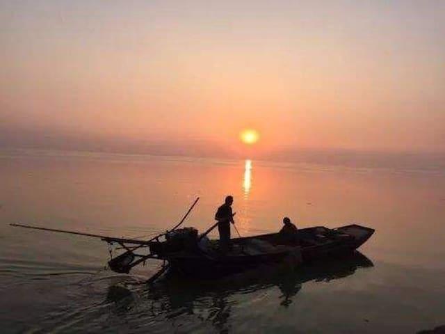 【南孙湾 半山小院 】湖中小岛 环境清静 天然氧吧 养生度假首选之地