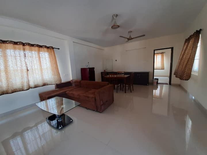 Spacious 1 BHK Penthouse with City View