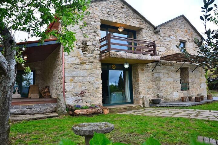 Casa preciosa rural cerca de Pontevedra, Galicia