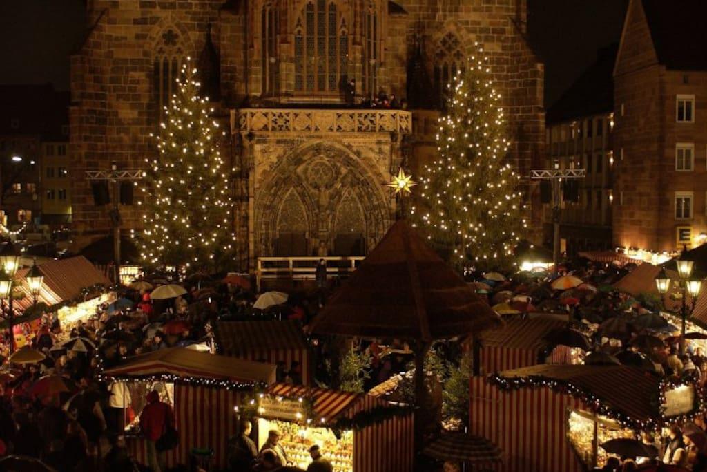 Christkindlesmarkt im Dezember