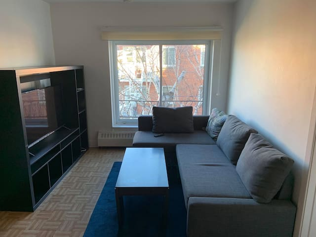 Appartement with Balcony close to Metro Acadie