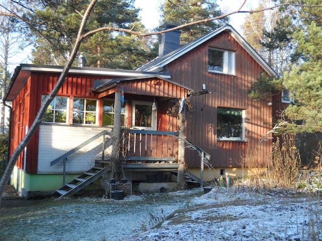 Cosy wooden house with garden - Espoo - Huis