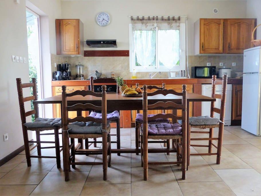 coin cuisine, salle à manger