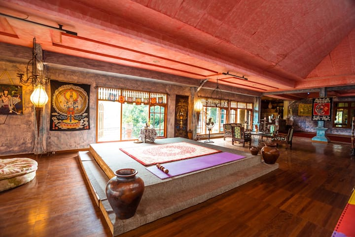 Bali Flow Temple - Retreat & Event Venue, Yoga - Tampaksiring - 別荘