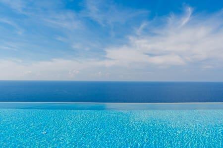 Villa Adagio with shared pool & sea view, 4persons - Kaluđerac