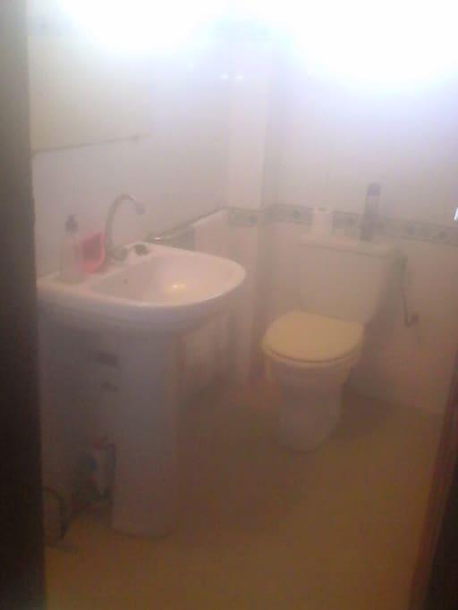 Sa salle de bain privée