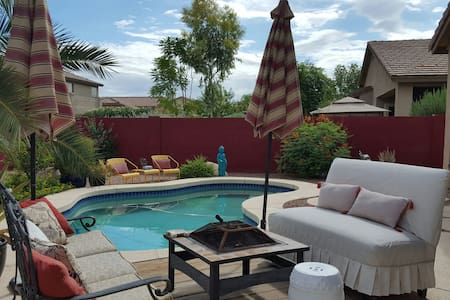 Oasis in the desert. 1-2 bedrooms, 1 private bath - Chandler