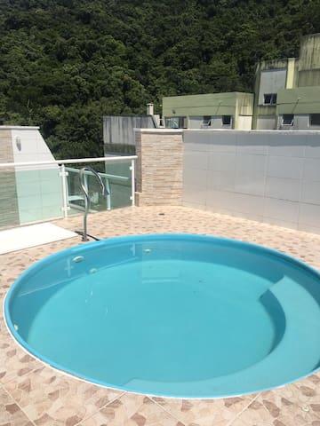 Cobertura Duplex com piscina e churrasqueira