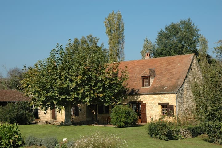 The main house