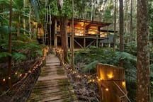 Secluded Magical Rainforest Retreat
