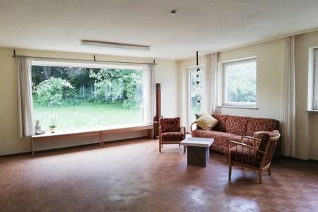 Rechtmehring, helle Wohnung mit Aus-/Durchblick