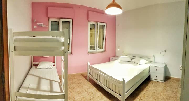 Private rooms at Bed Station Hostel