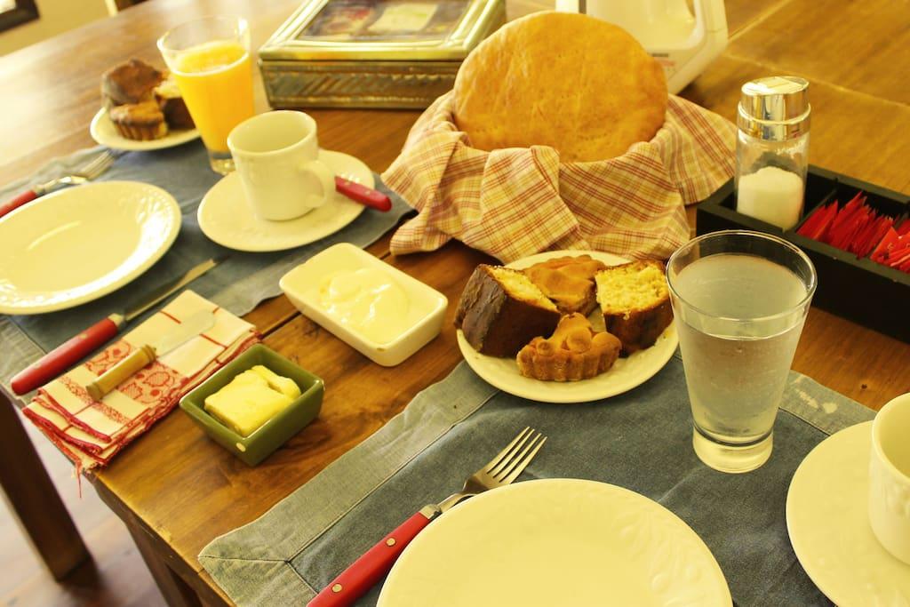 Un desayuno Olivarero