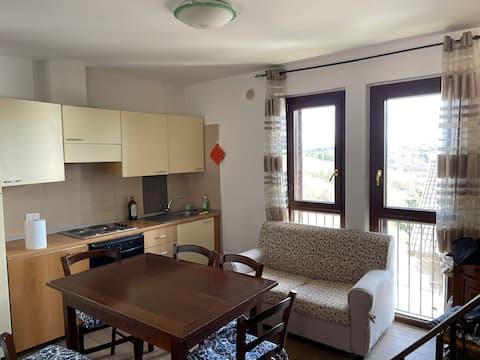 Grazioso appartamento a Rocca di Cambio