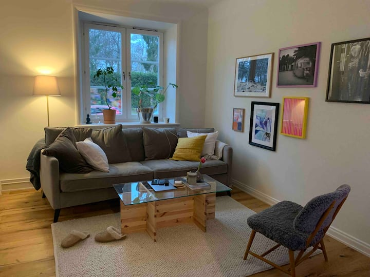 Cozy apartment 10 min away from the city!