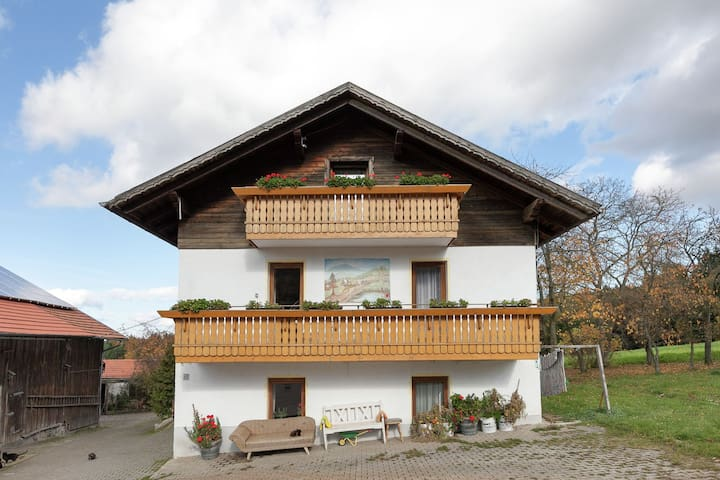 Nice apartment with balcony in the Bavarian Forest
