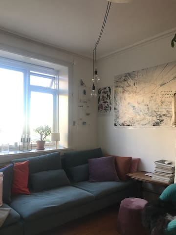 Chill and cozy apartment in the Northwest Area
