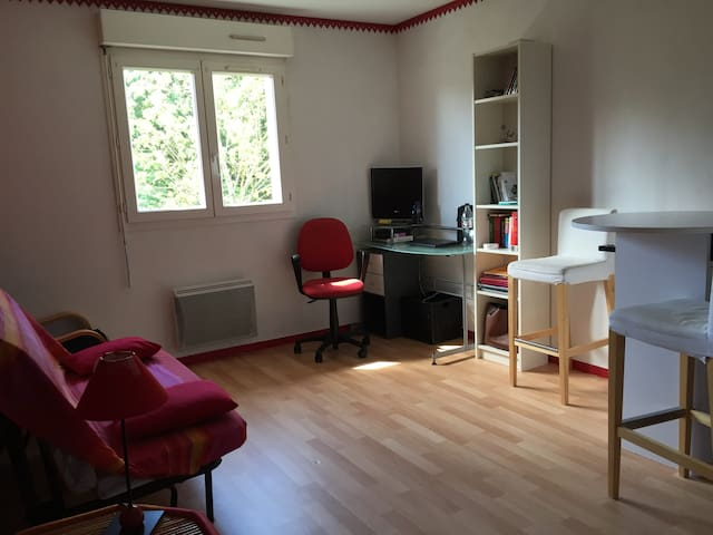 Studio pessac acc s direct bordeaux en tramway for Appartement bordeaux pessac