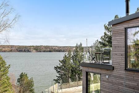 Villa Essen - med egen brygga, bastu och utsikt