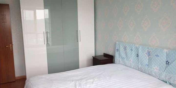 海山中心广场两室一厅温暖小屋