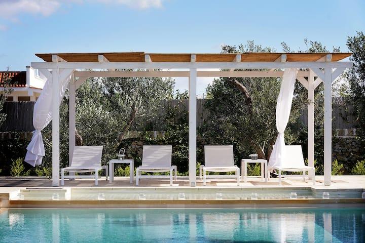 Casa il Fico a Relais L'Oliveto con piscina e wifi