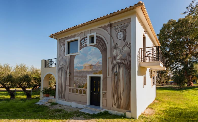 Luxury Villa Zakynthos - Lithakia - Huvila