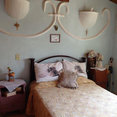 Habitación como en casa - Santiago de Querétaro - Bed & Breakfast