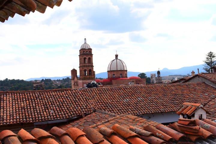 Cabaña El Tapanco a 2 cuadras del Jardín Principal